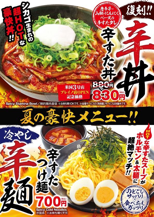 辛すた丼_辛すた麺